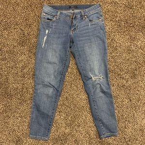 NORDSTROM light blue jeans